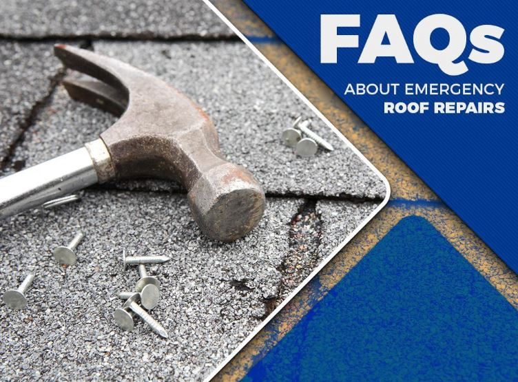 FAQs About Emergency Roof Repairs