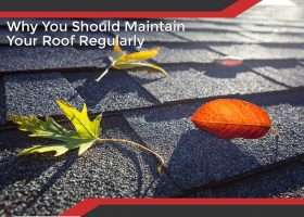 Why You Should Maintain Your Roof Regularly